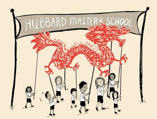 Hubbard dragon